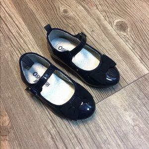 OshKosh Patent Leather Flats Blue Toddler Size 5